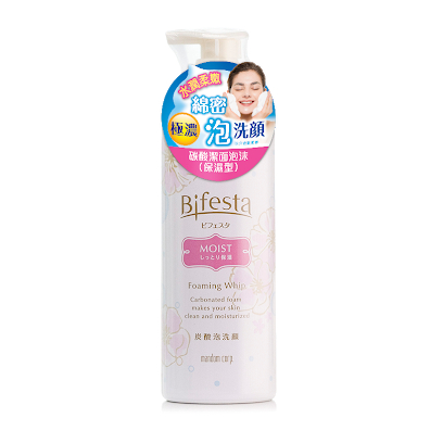 香港美妝排行榜 bifesta 碳酸潔面泡沫